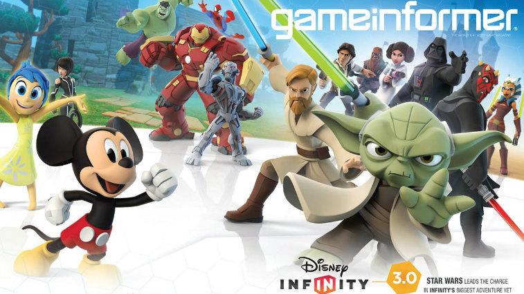 Disney Infinity Game Informer cover