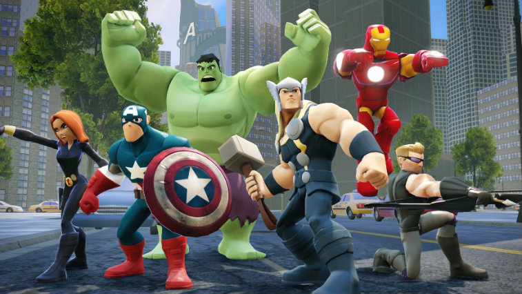 The Avengers in Disney Infinity.
