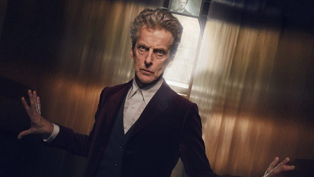 Peter Capaldi as the 12th Doctor on 'Doctor Who.'