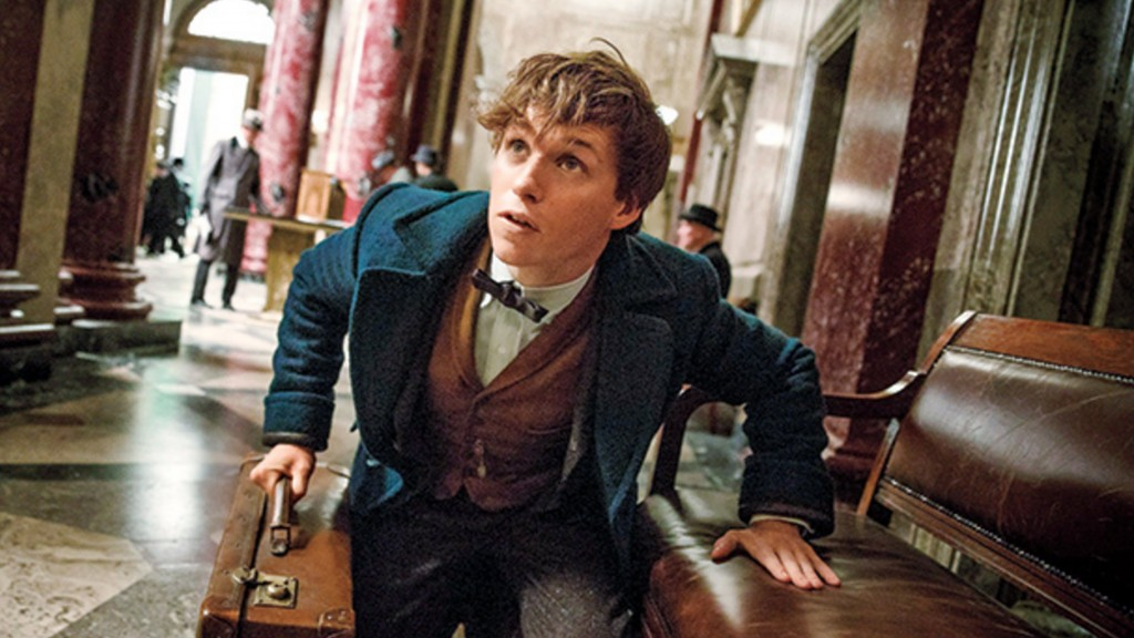 Eddie Redmayne in Fantastic Beasts and Where to Find Them