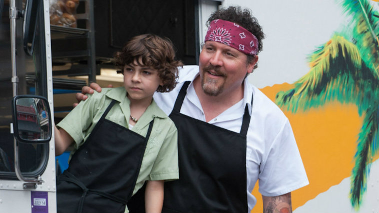 Emjay Anthony and Jon Favreau in Chef