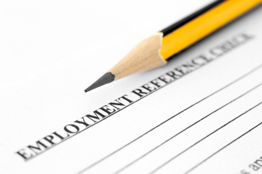 employment reference form