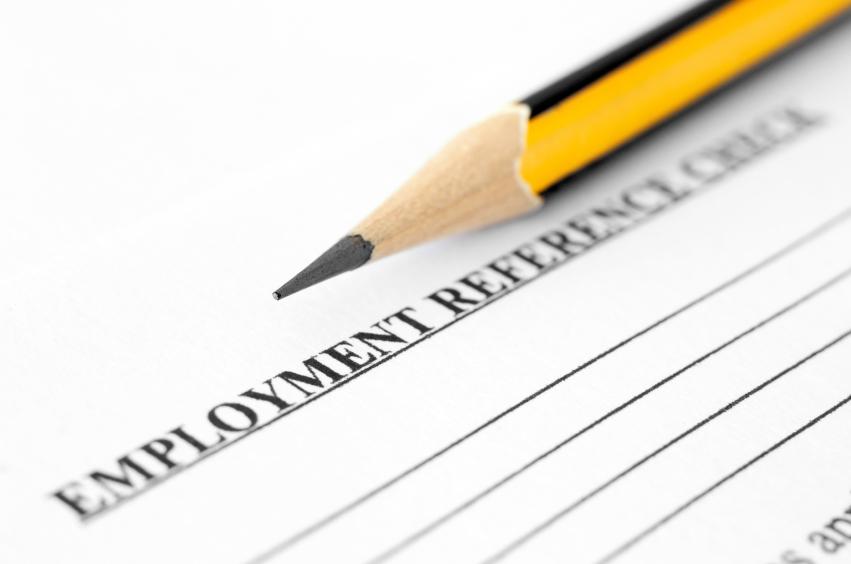 Job reference form