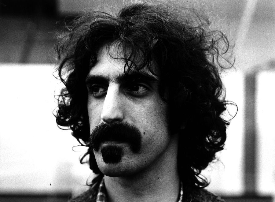 Frank Zappa looking off into the distance