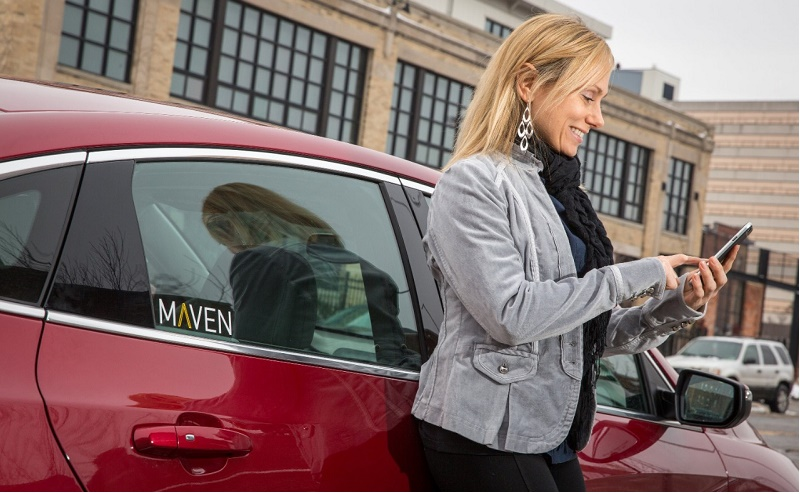 gm shifts to mobility with maven car sharing brand. Black Bedroom Furniture Sets. Home Design Ideas