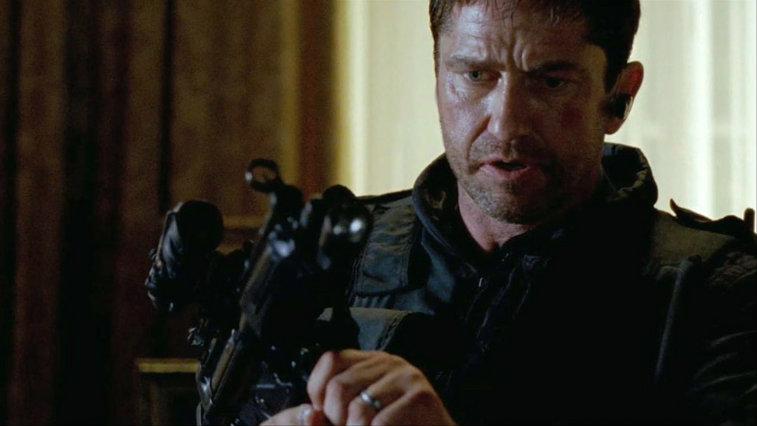 Gerard Butler in Olympus Has Fallen | Source: Sony Pictures