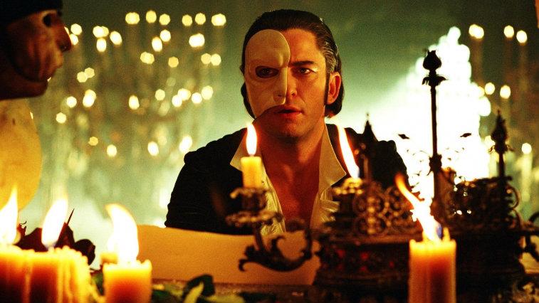 Gerard Butler in The Phantom of the Opera