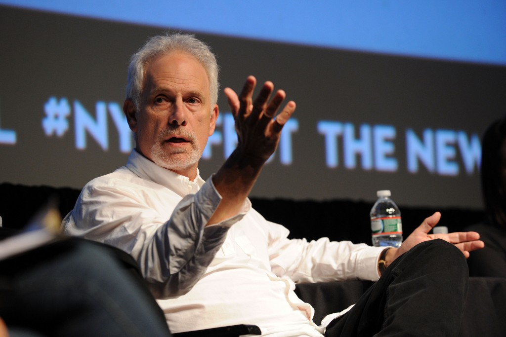 NEW YORK, NY - OCTOBER 05: Actor and director Christopher Guest speaks at the New Yorker Festival 2013 - Without A Script at SVA Theater 1 on October 5, 2013 in New York City. (Photo by Bryan Bedder/Getty Images for The New Yorker)
