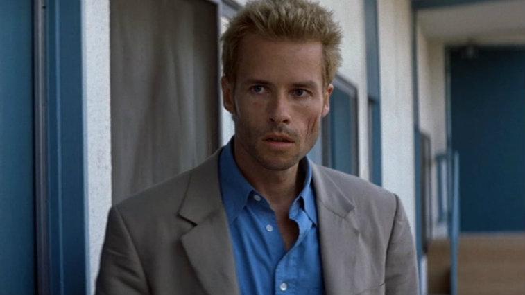 Guy Pearce in Memento