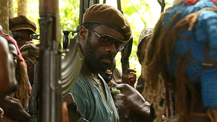 Idris Elba in Beasts of No Nation