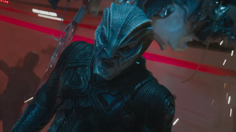 Idris Elba in Star Trek Beyond