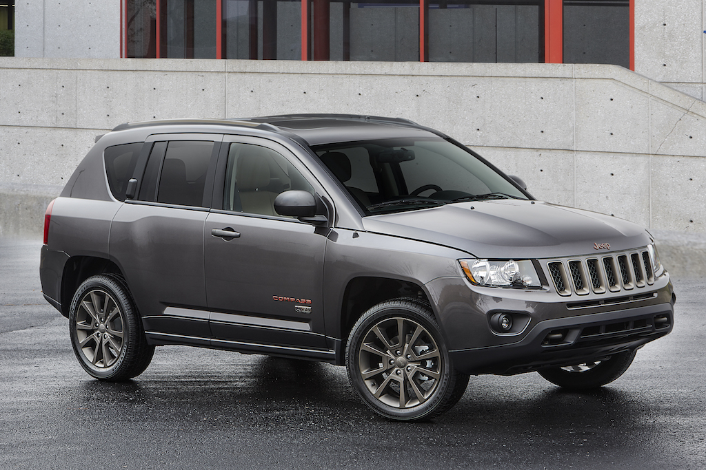 2016 Jeep® Compass 75th Anniversary edition