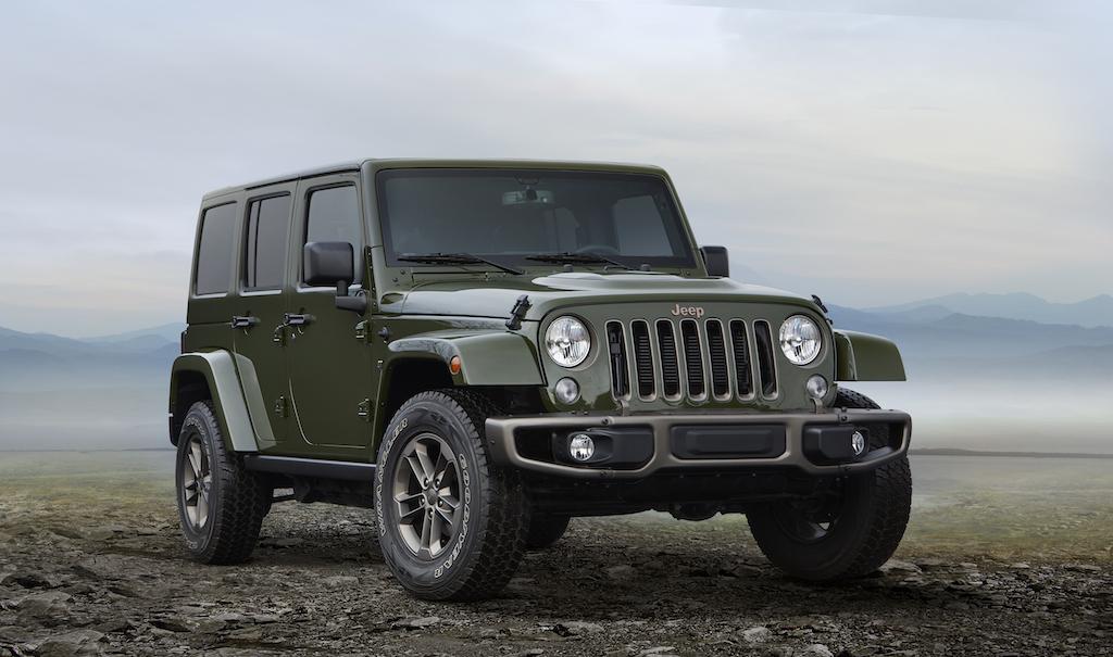 2016 Jeep Wrangler Unlimite