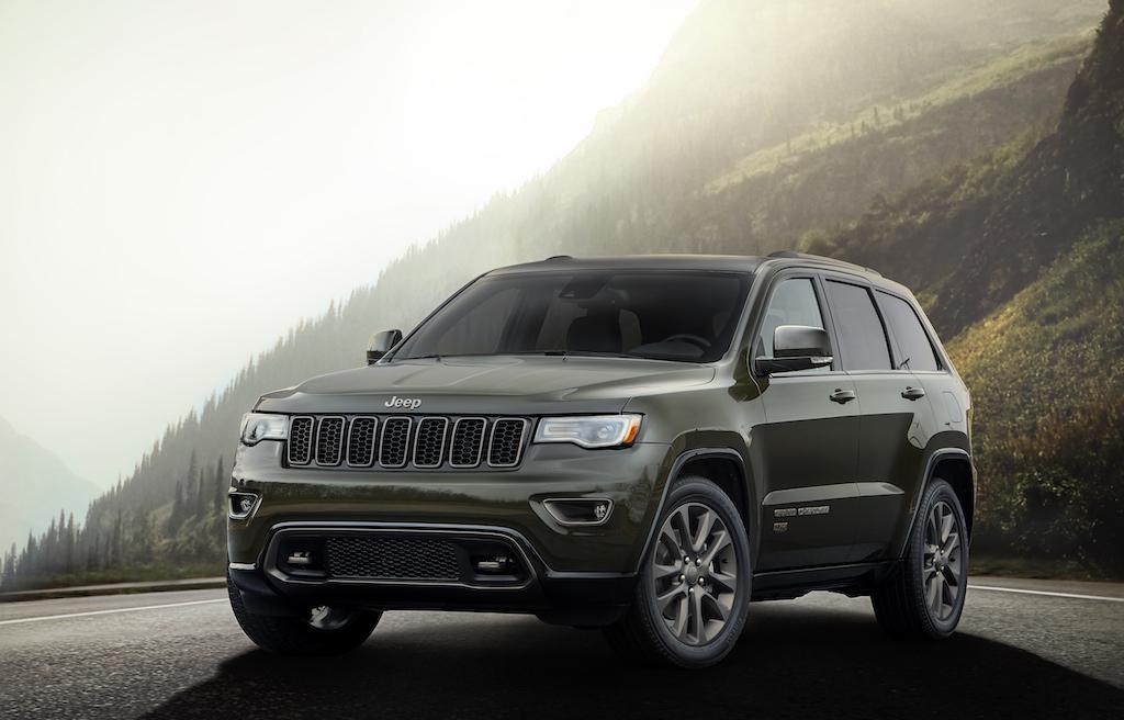 2016 Jeep® Grand Cherokee75th Anniversary edition