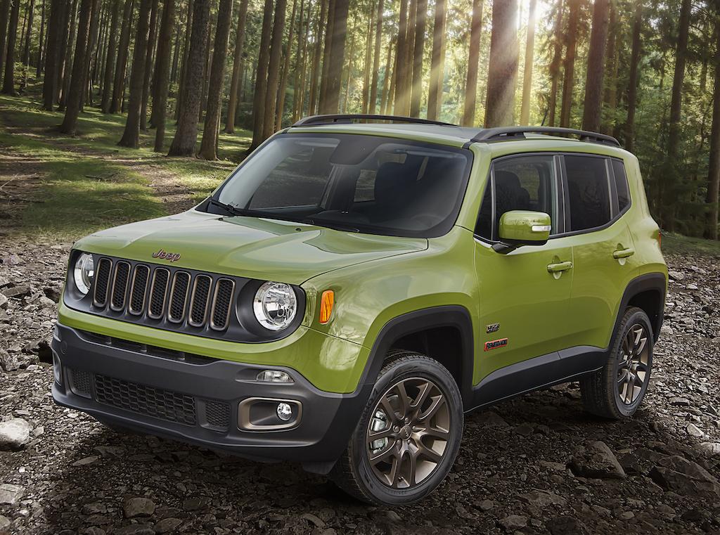 2016 Jeep Renegade 75th Anniversary edition