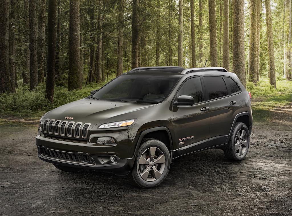 2016 Jeep® Cherokee 75th Anniversary edition