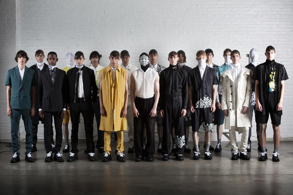 Kenneth Ning apparel