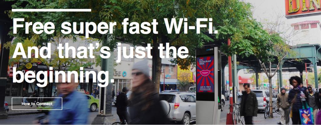 LinkNYC public Wi-Fi network