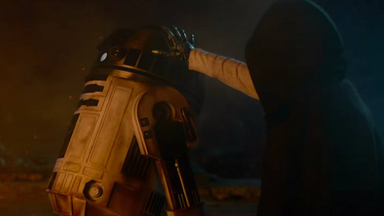 Mark Hamill in Star Wars: The Force Awakens