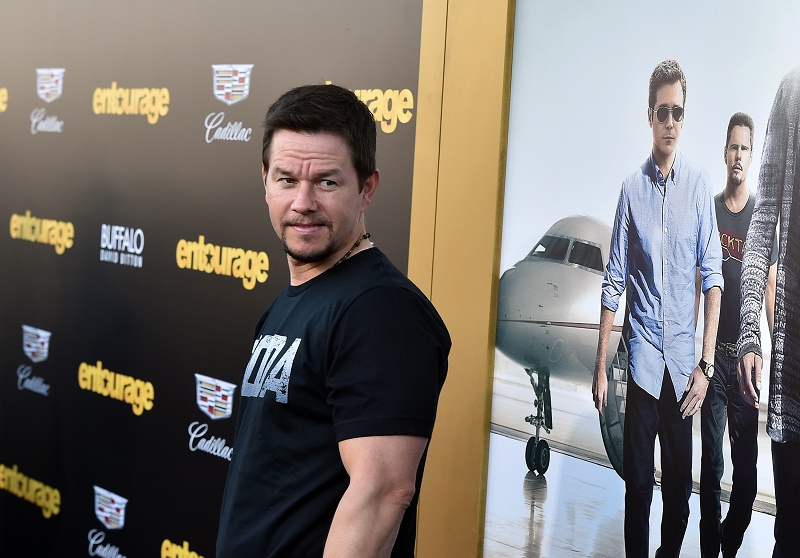 Mark Wahlberg attends the premiere of Warner Bros. Pictures' 'Entourage'