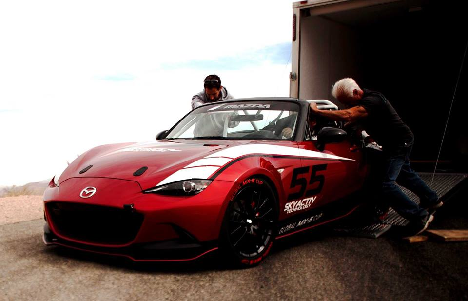 Mazda Shows Us How to Become a Race Car Driver