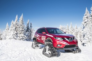 Nissan Rogue Warrior: No Snow Storm Can Stop It