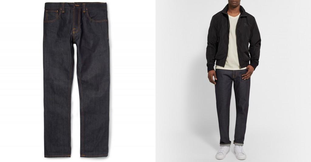 Nudie Jeans 'Steady Eddie' regular fit jeans at Mr. Porter