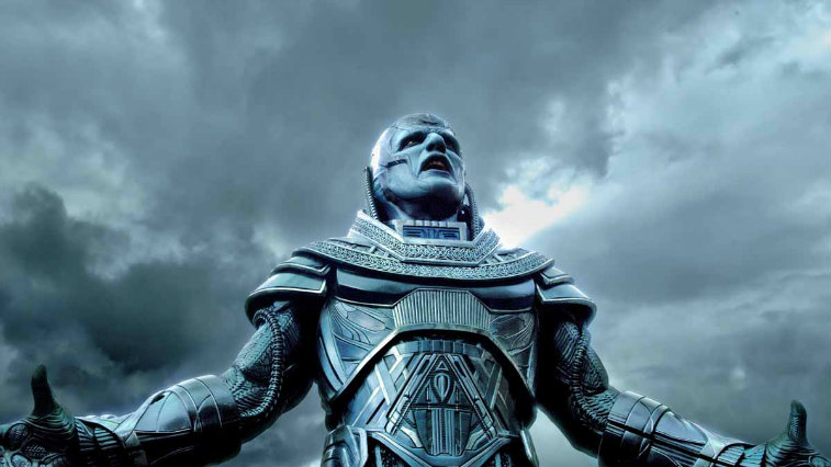 Oscar Isaac in X-Men: Apocalypse