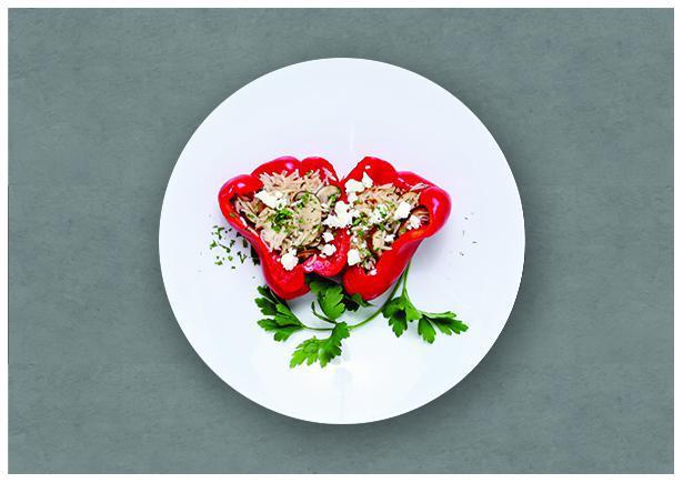 Quinoa-Stuffed Peppers