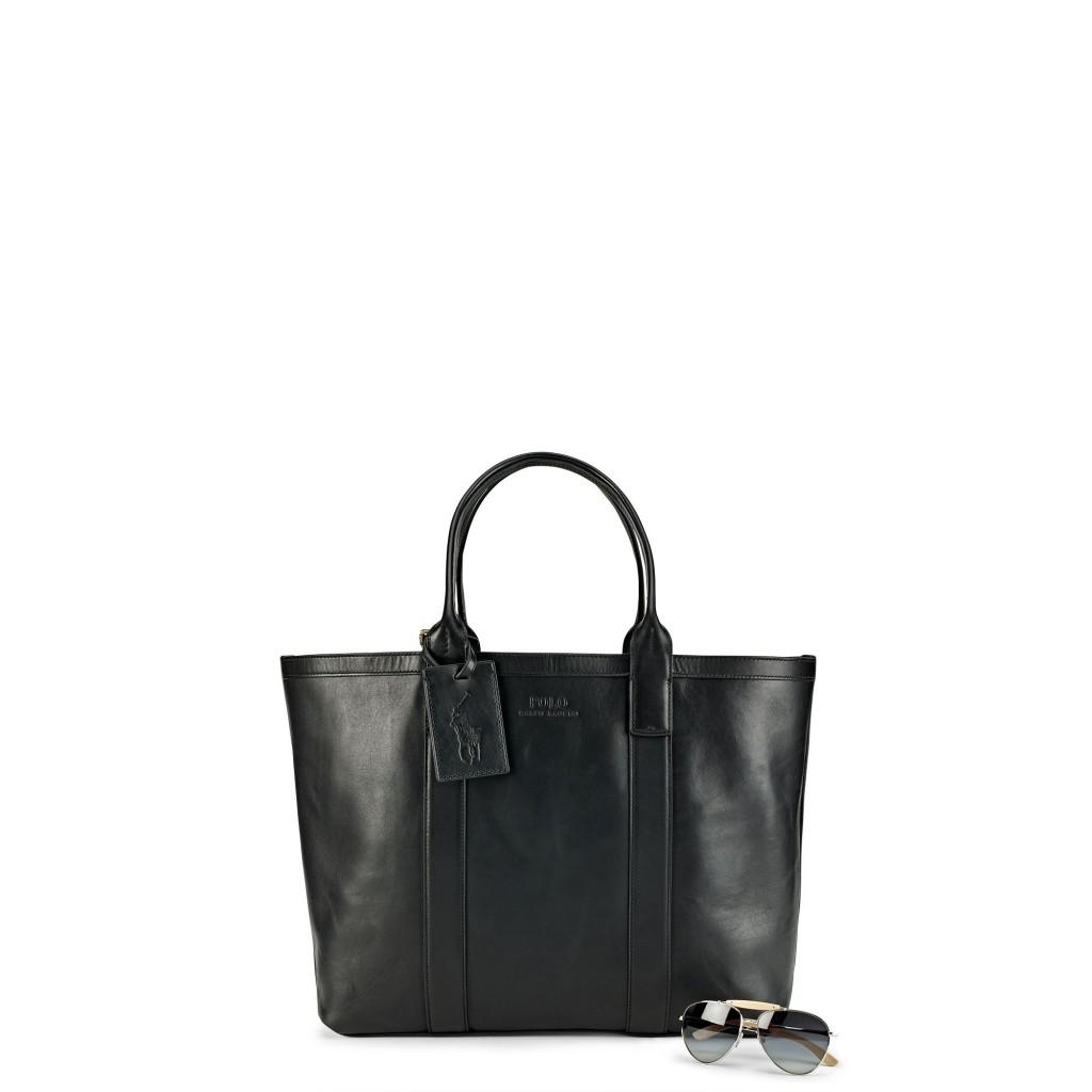 Ralph Lauren classic leather tote