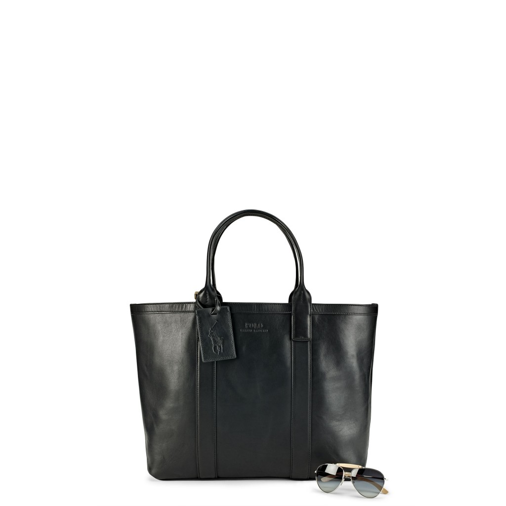 Ralph Lauren classic leather tote
