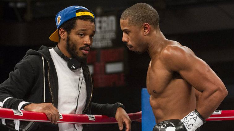 Ryan Coogler and Michael B. Jordan on the Creed set