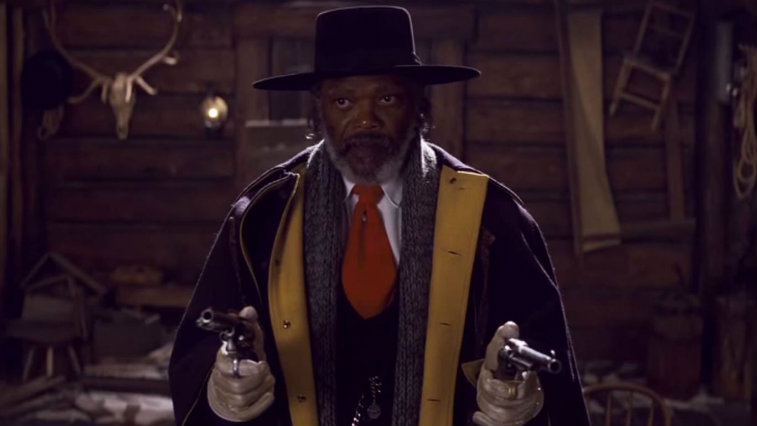 Samuel L Jackson in The Hateful Eight