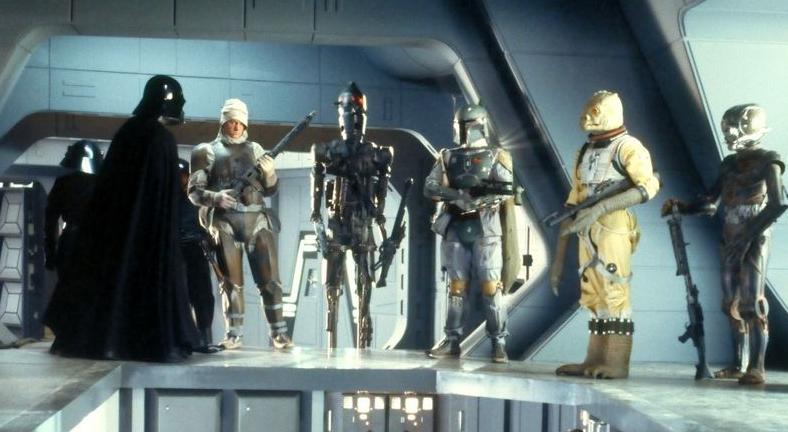 Bounty hunters in Star Wars: The Empire Strikes Back