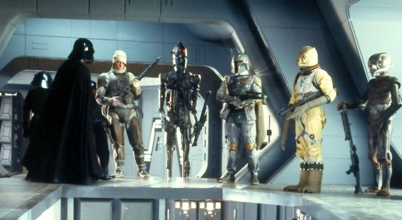 Bounty hunters in Star Wars: The Empire Strikes Back