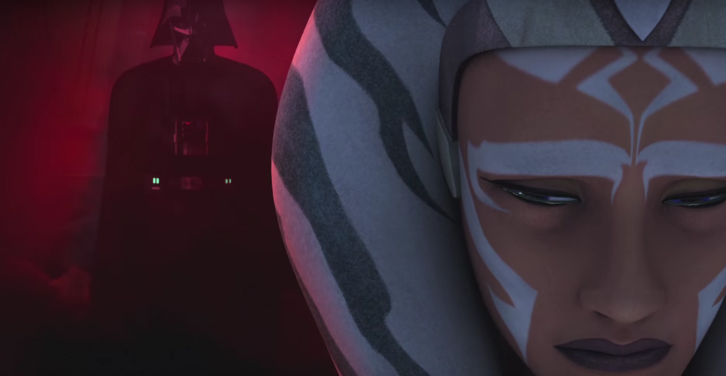 Asoka Tano, Darth Vader - Star Wars: Rebels