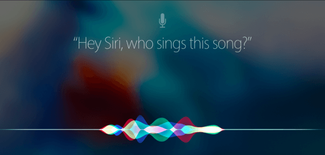 Asking Siri a question in iOS 9