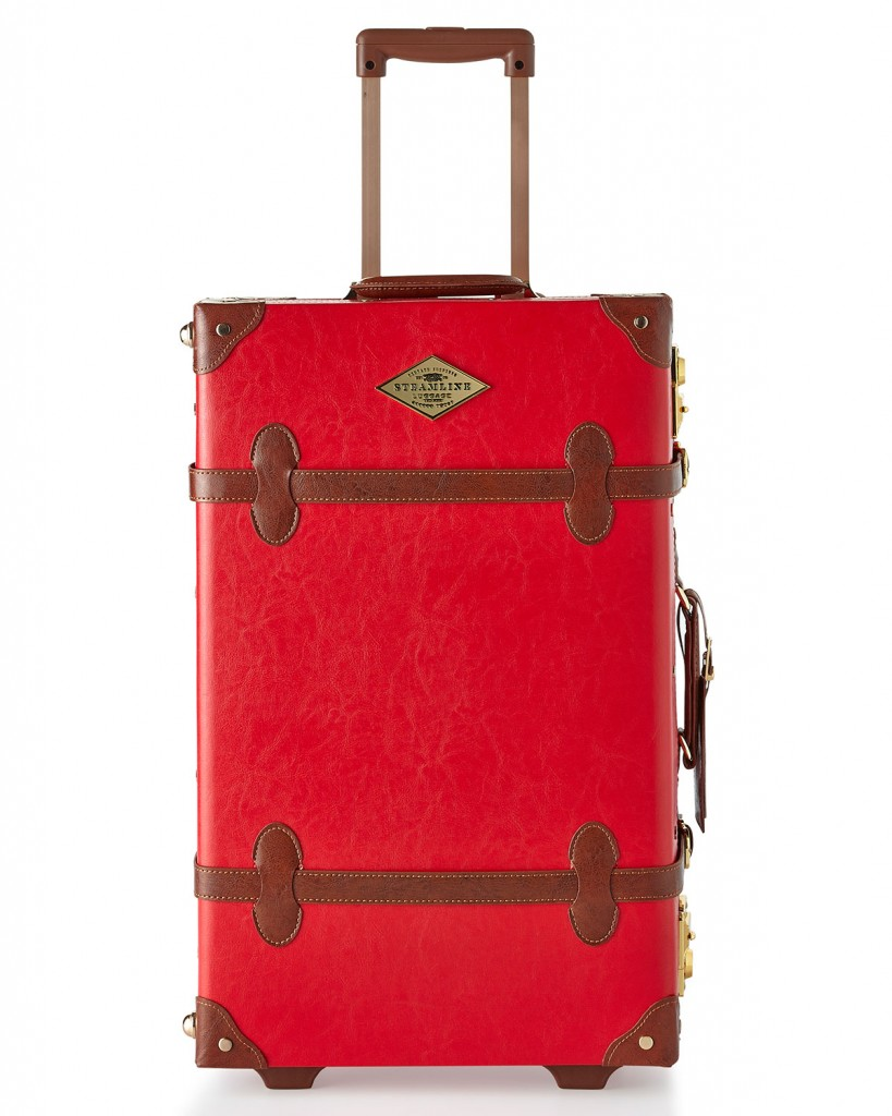 Steamline Luggage Red Entrepreneur Stowaway Case