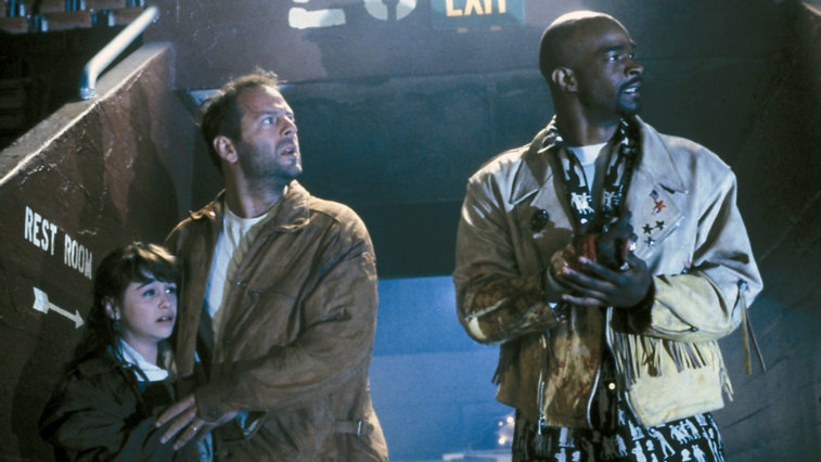 Bruce Willis and Damon Wayans in The Last Boy Scout