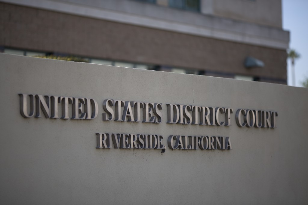 us district court in riverside, california