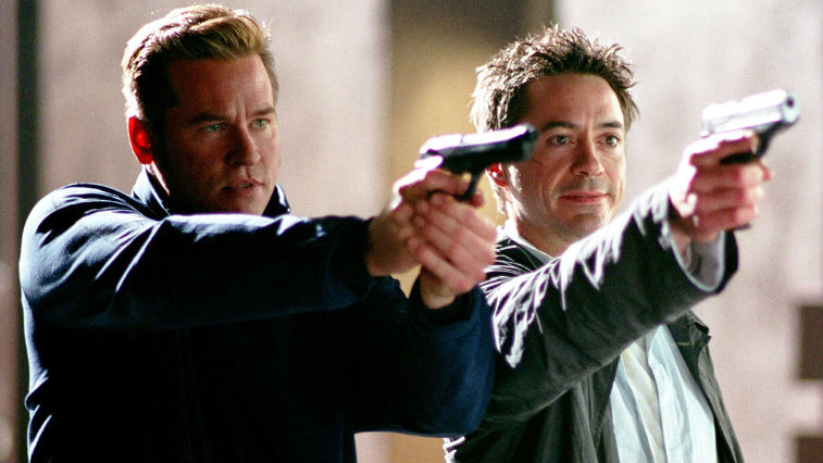 Val Kilmer and Robert Downey Jr. in Kiss Kiss Bang Bang