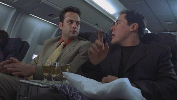 Vince Vaughn and Jon Favreau in Made
