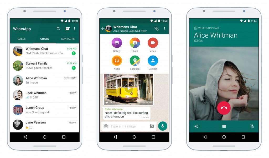WhatsApp Android app