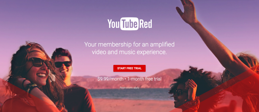 YouTube Red subscription service