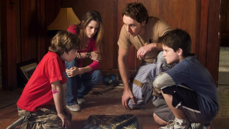 The cast of Zathura