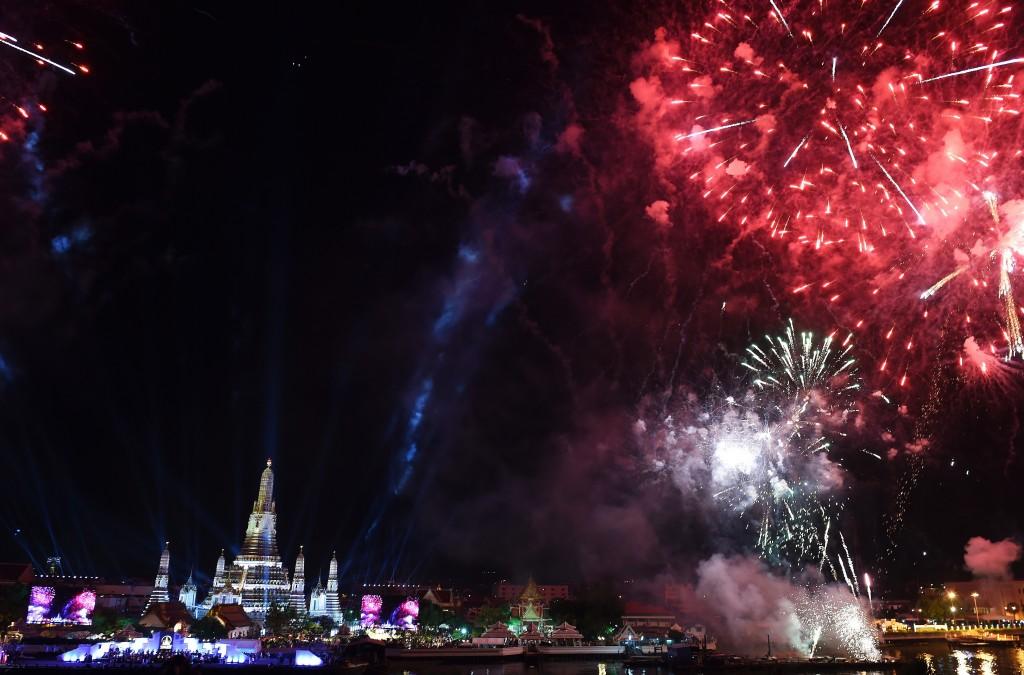 new year's celebration in bangkok