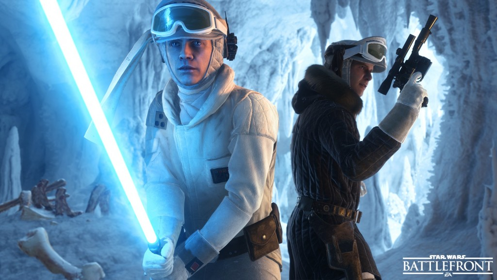 Star Wars: Battlefront gameplay