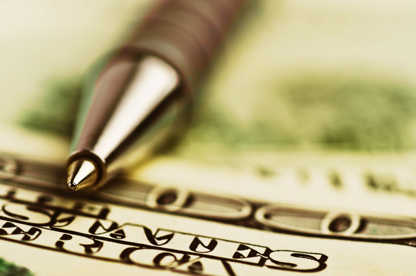 A pen and paper are an easy way to get your personal finances in order