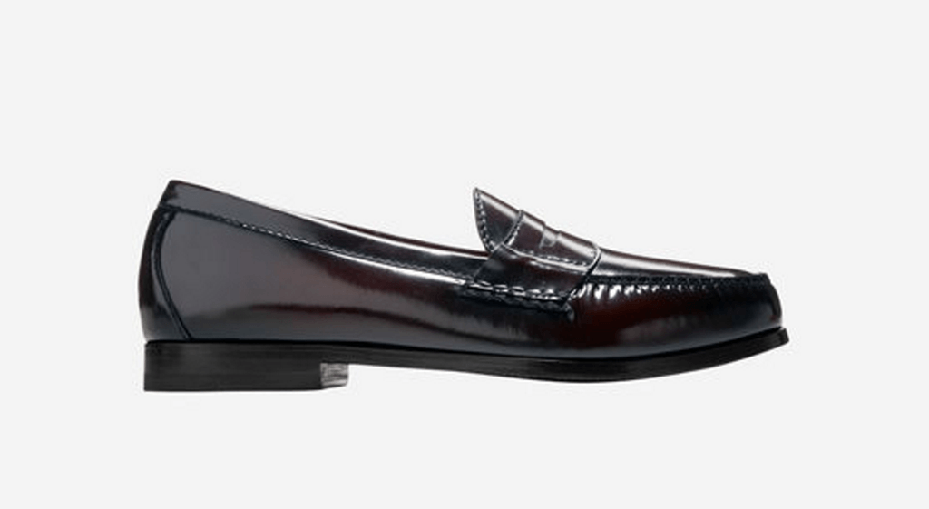 dark loafers