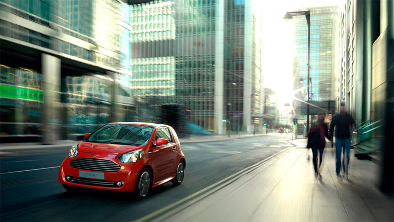 The 2011 Aston Martin Cygnet